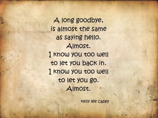 long goodbye casey